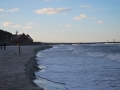Sztorm nad morzem Łeba