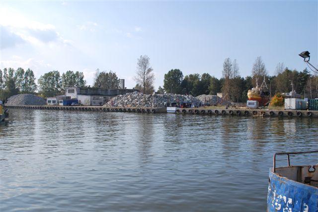 Budowa sztucznej rafy Łeba