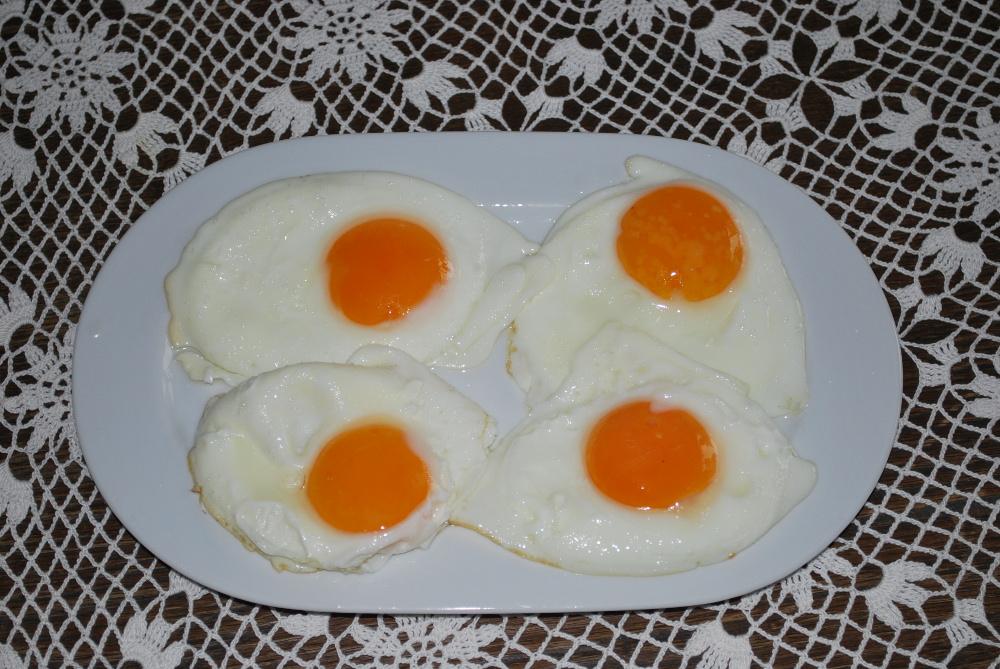 Idealne jajko sadzone w Skrawku Nieba