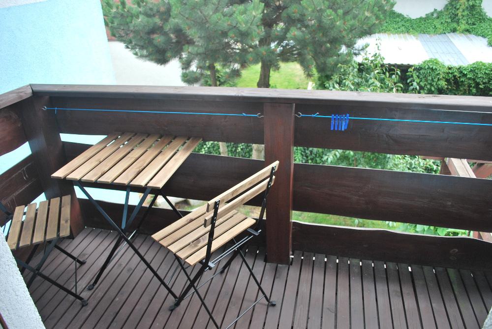 Stoliki na balkonach Skrawek Nieba